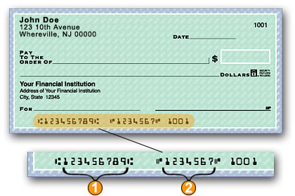verify your correct routing number and account number with your banking institution