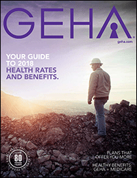 thumbnail cover image for geha's 2018 guide to health insurance rates and benefits for federal employees