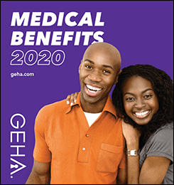 thumbnail cover image for the 2020 geha medical benefits guide