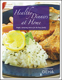 Cover image for Healthy Dinners at Home ebook