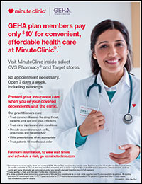MinuteClinic flyer
